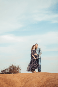 Maternity session in San Diego