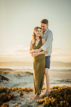 Beach family and maternity session in San Diego