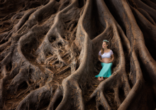 Maternity session in Balboa park San Diego CA