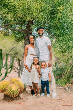Family in Balboa park