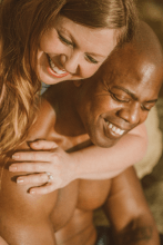Engagement beach photography in San Diego, CA