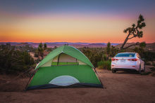 Camping in California