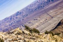 Вид на пустыню